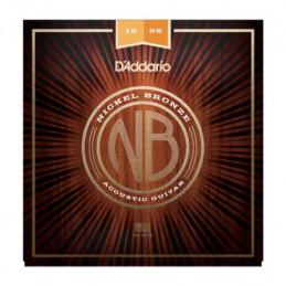 D'ADDARIO NB1256 NICKEL BRONZE SET MEDIUM BOTTOM