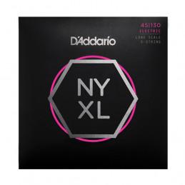 D'ADDARIO NYXL45130 ELECTRIC BASS STRING SET LONG SCALE REGULAR LIGHT 5-STRING 45-130