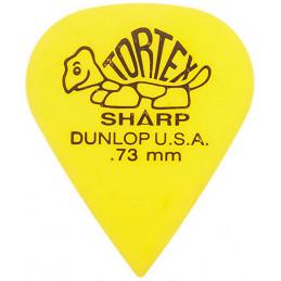 DUNLOP 412R TORTEX SHARP PLETTRO YELLOW 0,73MM