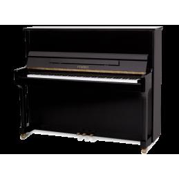 FEURICH 122 UNIVERSAL PIANOFORTE VERTICALE NERO LUCIDO
