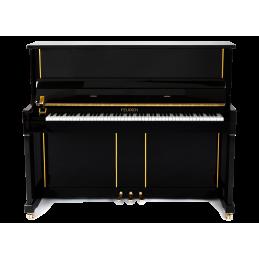 FEURICH 125 DESIGN PIANOFORTE VERTICALE NERO LUCIDO