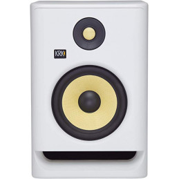 "KRK RP7 ROCKIT 7 G4 STUDIO MONITOR BI-AMP, 1X7"", 145W, WHITE"