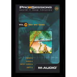 M-AUDIO PROSESSION LIBRARY - 50