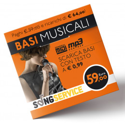 M-LIVE SONGNET _.59 CARTA PREPAGATA VALORE _. 64