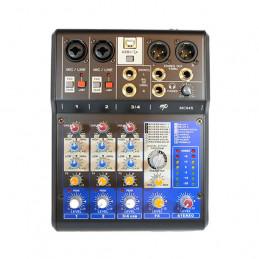 MP AUDIO MC04X MIXER 4 CANALI CON DSP