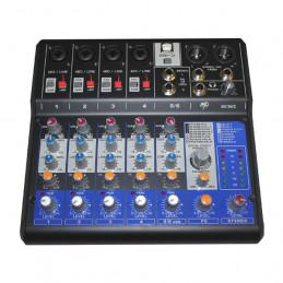 MP AUDIO MC06X MIXER 6 CANALI CON DSP