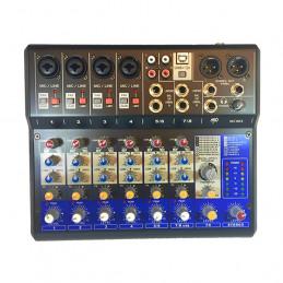 MP AUDIO MC08X MIXER 8 CANALI CON DSP