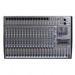 PHONIC M 2442FX 24-INPUT 4-BUS STUDIO/LIVE MIXER WITH DIGITAL EFX AND GEQ