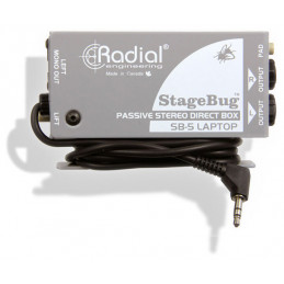 RADIAL STAGEBUGT SB-5 LAPTOP DI