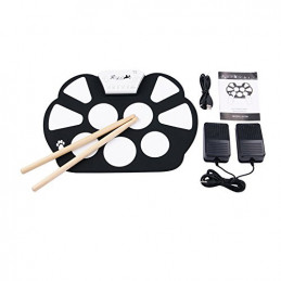 KONIX ROLL UP DRUM W758 MINI SET BATTERIA DA TAVOLO