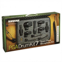 SHURE PGA-DRUMKIT 7 SET MICROFONI PER BATTERIA