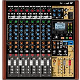 TASCAM MODEL 12  MIXER 12 CH + RECORDER 12 TRACCE