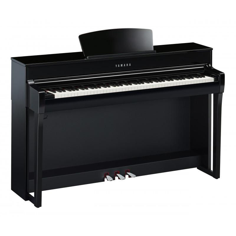 YAMAHA CLP-735/PE DIGITAL PIANO 88 NOTE NERO LUCIDO