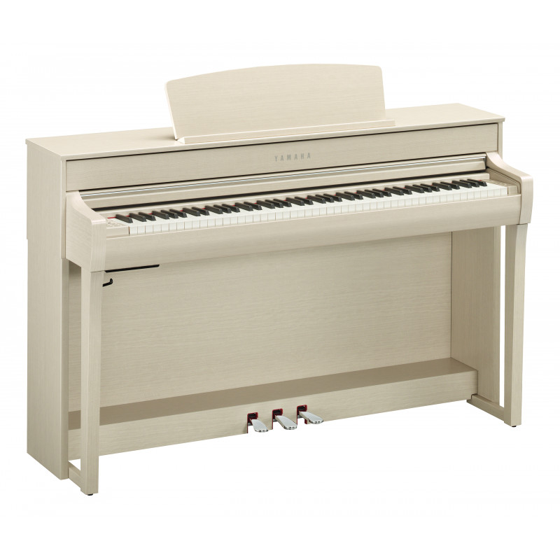 YAMAHA CLP-745/WA DIGITAL PIANO 88 NOTE BIANCO CENERE OPACO