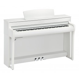 YAMAHA CLP-745/WH DIGITAL PIANO 88 NOTE BIANCO OPACO