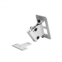 Adjustable Wall Mount per Serie 8000 Bianco