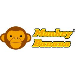 Monkey Banana Baboon 6 Red