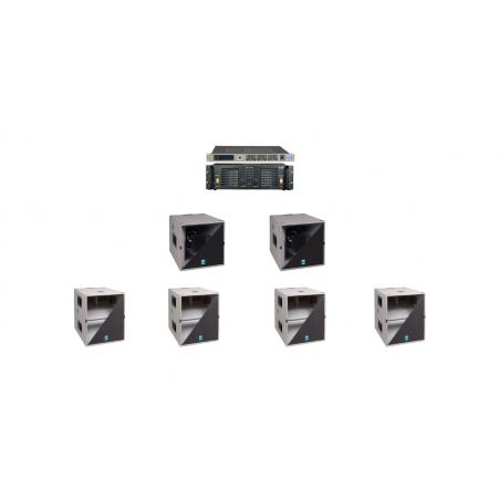 KME QS52T 4800W SISTEMA COMPLETO