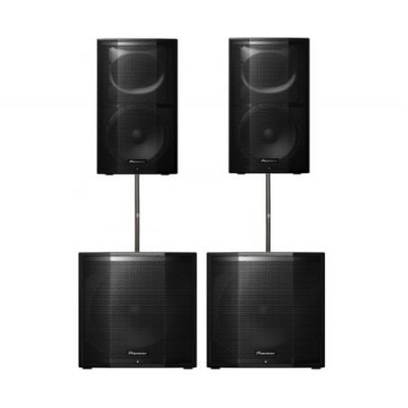 PIONEER XPRS KIT SISTEMA AUDIO 4800 WATTS