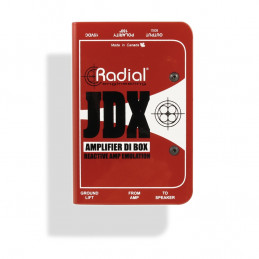 RADIAL JDX GUITAR AMP DI BOX