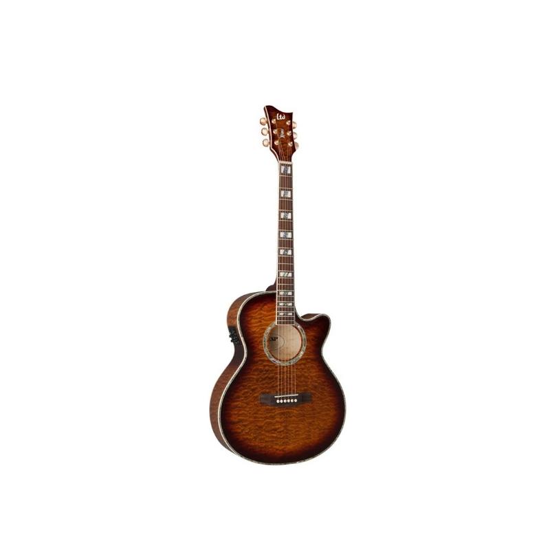 Ltd AC-30E/QM/DBSB | Guitar Model Review