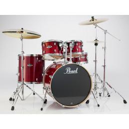 5-pc Drum Set w/Stands (2218B/1007T/1208T/1616F/1455S)