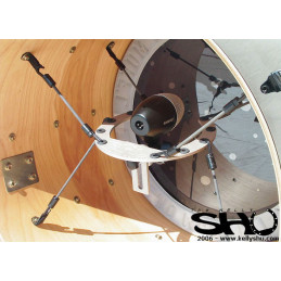 Kelly SHU Composite Kick Drum Microphone Mount