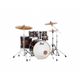 PEARL DECADE MAPLE 5pz SOLO FUSTI colore SATIN BROWN BURST 260