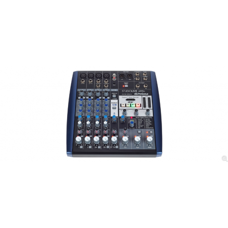 PRESONUS STUDIOLIVE AR8c - Analogue Mixer with USB Audio Interface