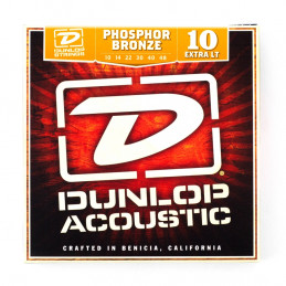 DAP1048 Acoustic Phosphor Bronze, Extra Light Set/6