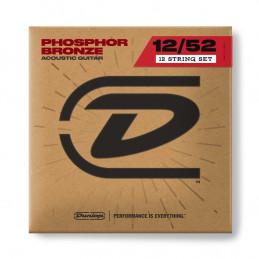 DAP1252J Acoustic Phosphor Bronze, Medium Set/12