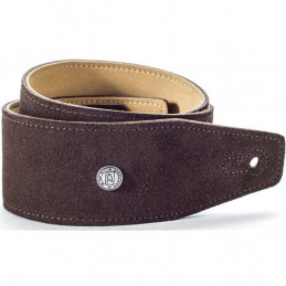 BMF-S02 STRAP SUEDE MAHOGNY