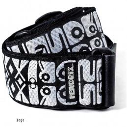 JH05 Strap Jimi Hendrix Logo Black/White
