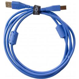 U95002LB - ULTIMATE AUDIO CABLE USB 2.0 A-B BLUE STRAIGHT 2M