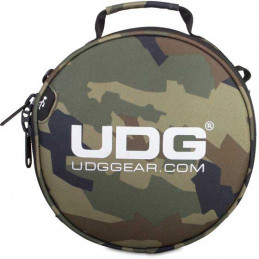U9950BC/OR - ULTIMATE DIGI HEADPHONE BAG BLACK CAMO, ORANGE INSIDE