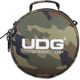 U9950BC/OR - ULTIMATE DIGI HEADPHONE BAG BLACK CAMO, ORANGE INSIDE